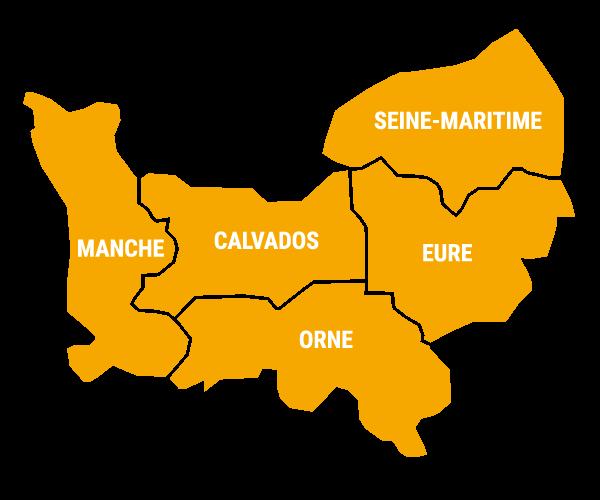 Carte de la Fédération